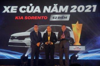 KIA Sorento giành giải thưởng Xe của năm 2021