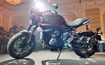 Loạt công nghệ trên môtô giá thấp nhất của Triumph tại Việt Nam: Trident 660 2021