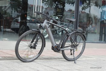 Chi tiết xe đạp điện Triumph Trekker GT giá 105 triệu đồng tại Việt Nam