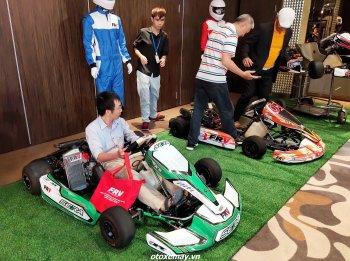 Khởi động giải đua Go-Kart Southern Open Championship 2021 ở trường đua Đại Nam