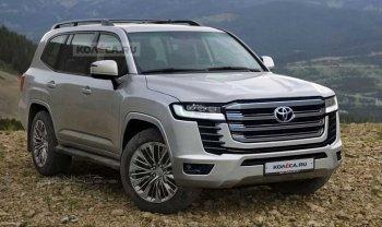 Toyota Land Cruiser 2022 ra mắt người dùng ngày 9/6
