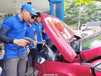 Lưu ý khi rửa xe bằng hơi nước nóng