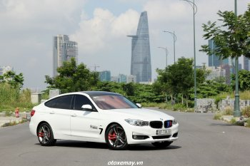 """BMW 320i GT Sport Line độ """"nhẹ mà chất"""" của tay lái Việt"""