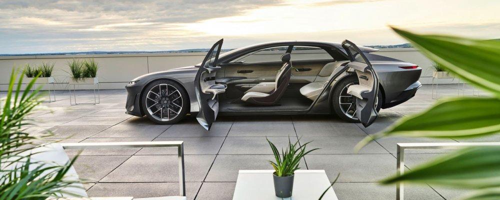 Audi Grandsphere: tầm nhìn xa về mẫu xe hơi tự lái hạng sang
