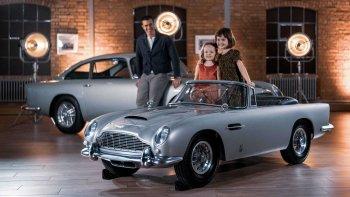 Aston Martin mini theo phong cách James Bond