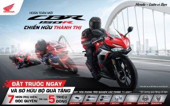 Honda CBR150R được phân phối chính hãng tại Việt Nam, giá rẻ giật mình