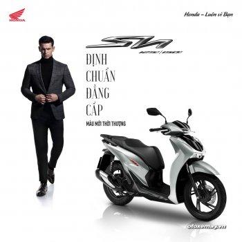Bộ đôi Honda SH & Air Blade ra mắt phiên bản màu sắc mới thể thao hơn, giá bán tăng nhẹ
