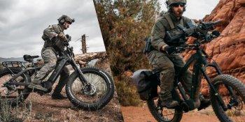 """Xe đạp điện """"chiến đấu"""" dành cho lực lượng đặc nhiệm, quân đội"""