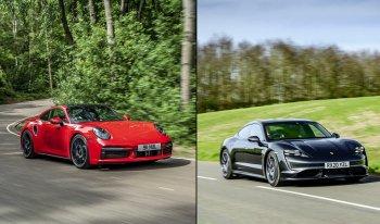 Xe điện Porsche Taycan vượt huyền thoại 911 về lượng tiêu thụ